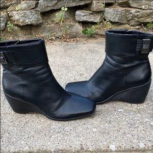 Bandolino wedge boots size 9.5